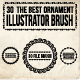30 Brush and Ornaments - GraphicRiver Item for Sale