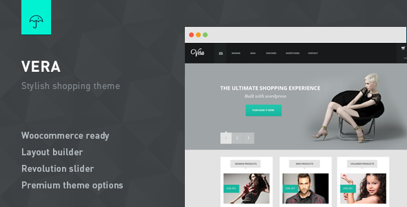 Vera - Responsive e-Commerce Theme for Wordpress