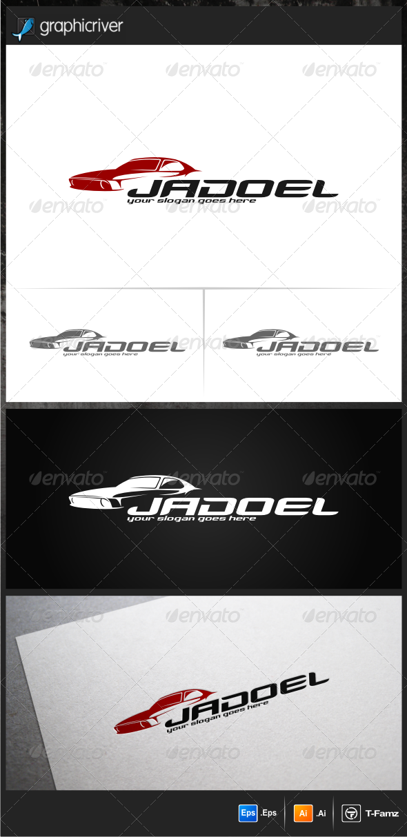 Classic Car III Logo Templates - Objects Logo Templates