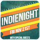 Indie Night - Flyer [Vol.15] - GraphicRiver Item for Sale