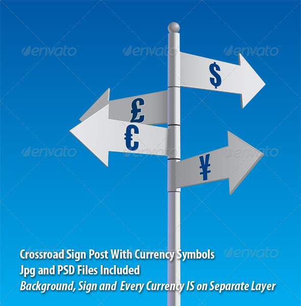 GraphicRiver Money Crossroad 6109293
