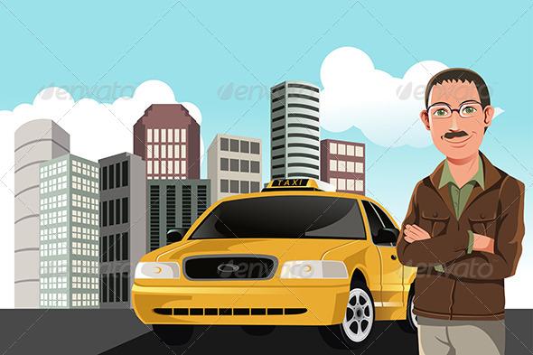GraphicRiver Taxi Driver 6115064
