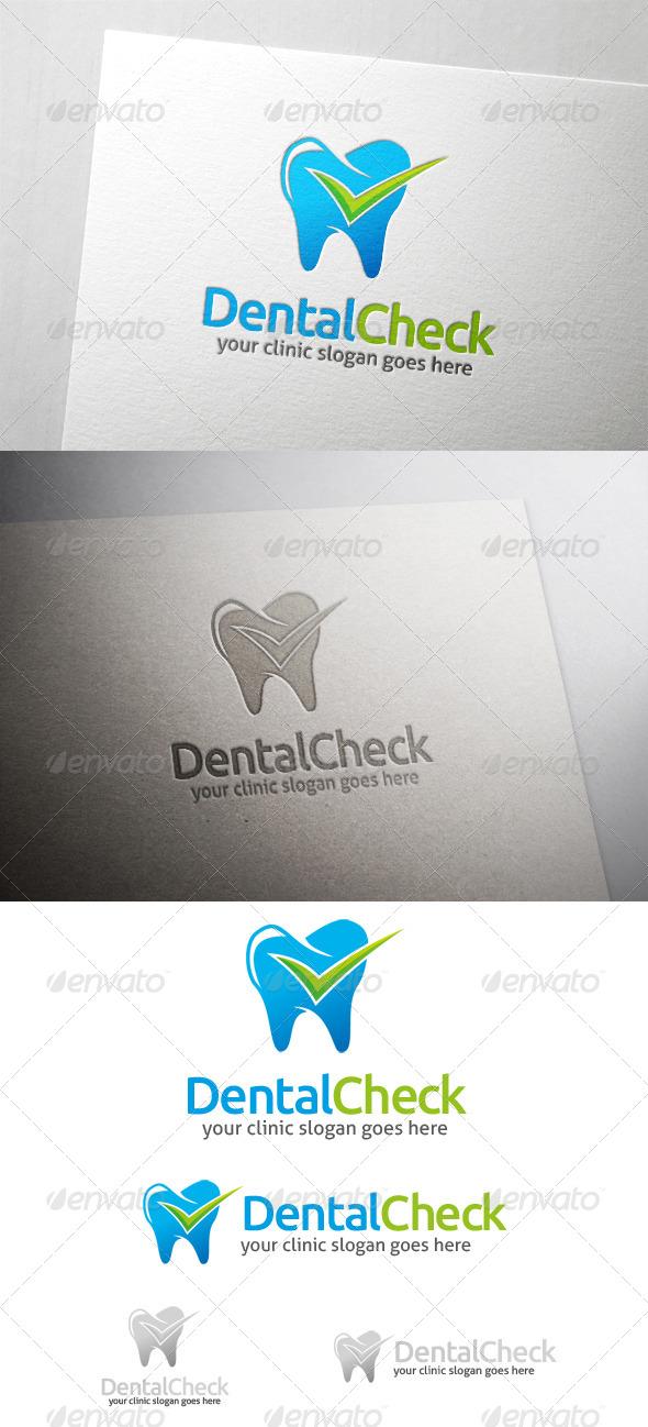 GraphicRiver Dental Check Logo 6104727