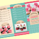 Trifold Cupcakes Menu Templ-Graphicriver中文最全的素材分享平台