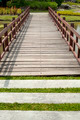Footbridge in a garden - PhotoDune Item for Sale