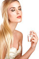 elegant woman applying perfume on her body - PhotoDune Item for Sale