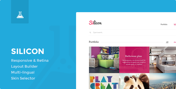 Silicon - Responsive WordPress Theme - Corporate WordPress