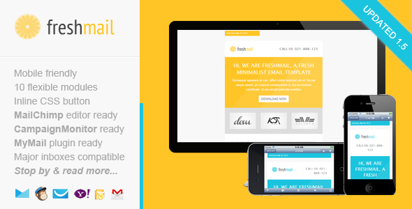 Freshmail Responsive Email Template - Email Templates Marketing