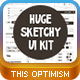 Huge Sketchy Ui Kit - GraphicRiver Item for Sale