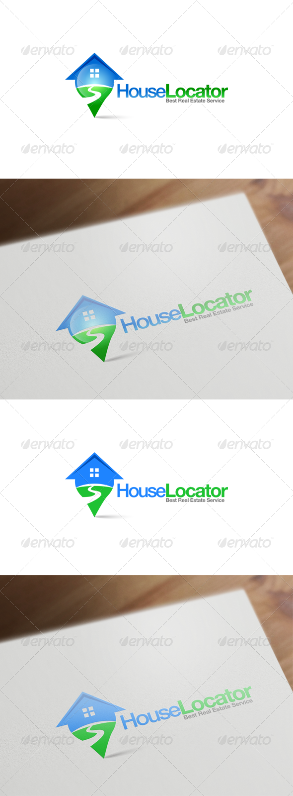 GraphicRiver Real Estate Logo Design 6123216