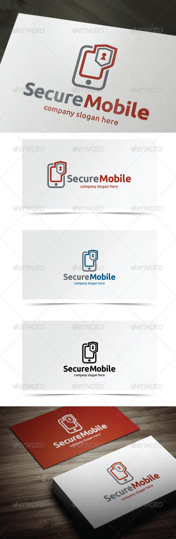 GraphicRiver Secure Mobile 6124007