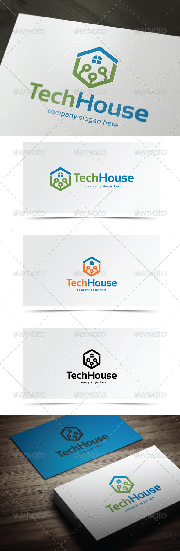 GraphicRiver Tech House 6124343
