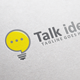 Talk Idea Logo - GraphicRiver Item for Sale