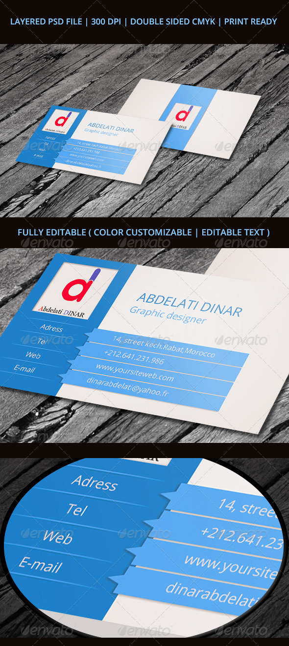 GraphicRiver Business Card 01 6124592