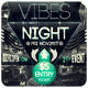 Vibes Night - Flyer [Vol.6] - GraphicRiver Item for Sale