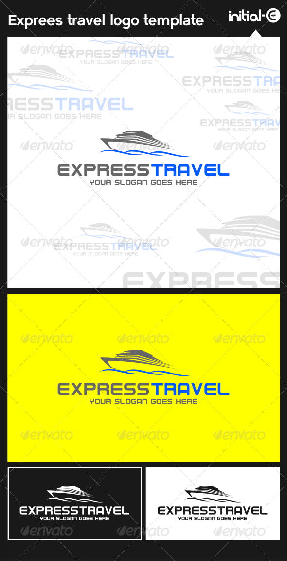 GraphicRiver Express Trevel Logo Template 6126163