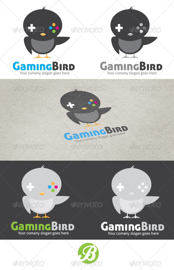 GraphicRiver Gaming Bird 6127166