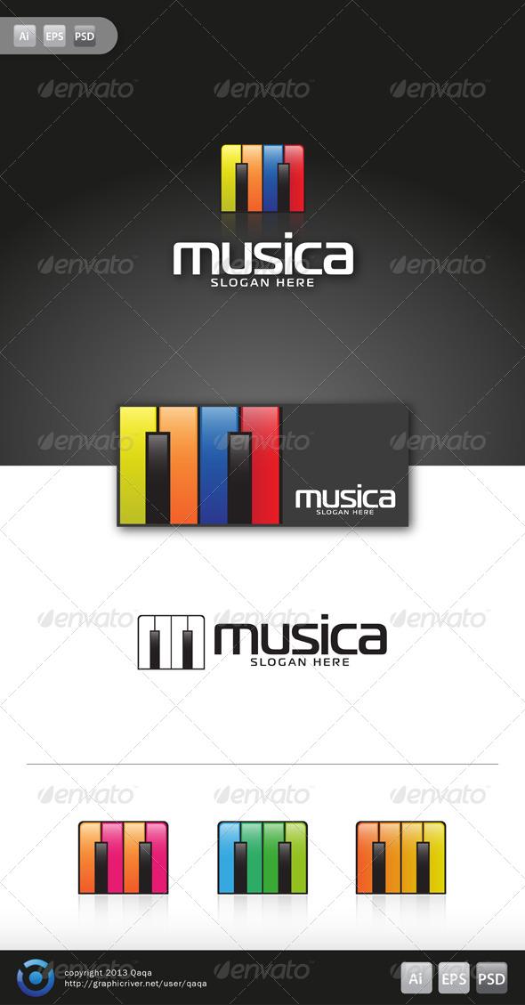 GraphicRiver Music Logo 01 6130927