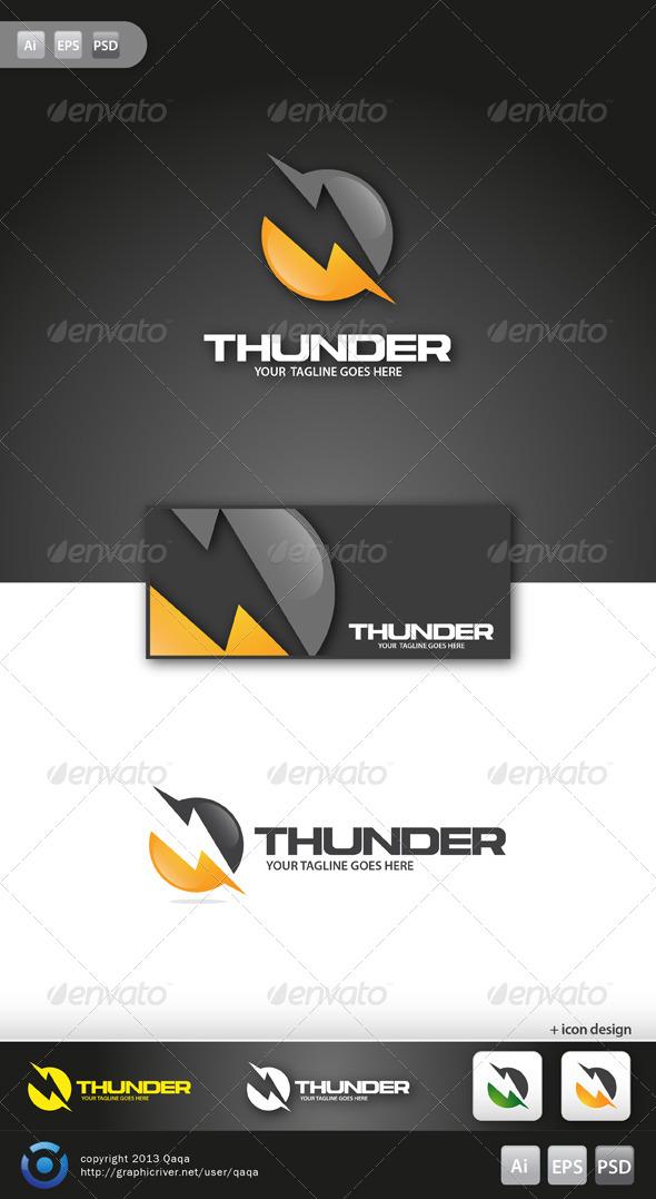 GraphicRiver Thunder Logo 6131045