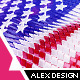 American Flag – Style 1 - VideoHive Item for Sale