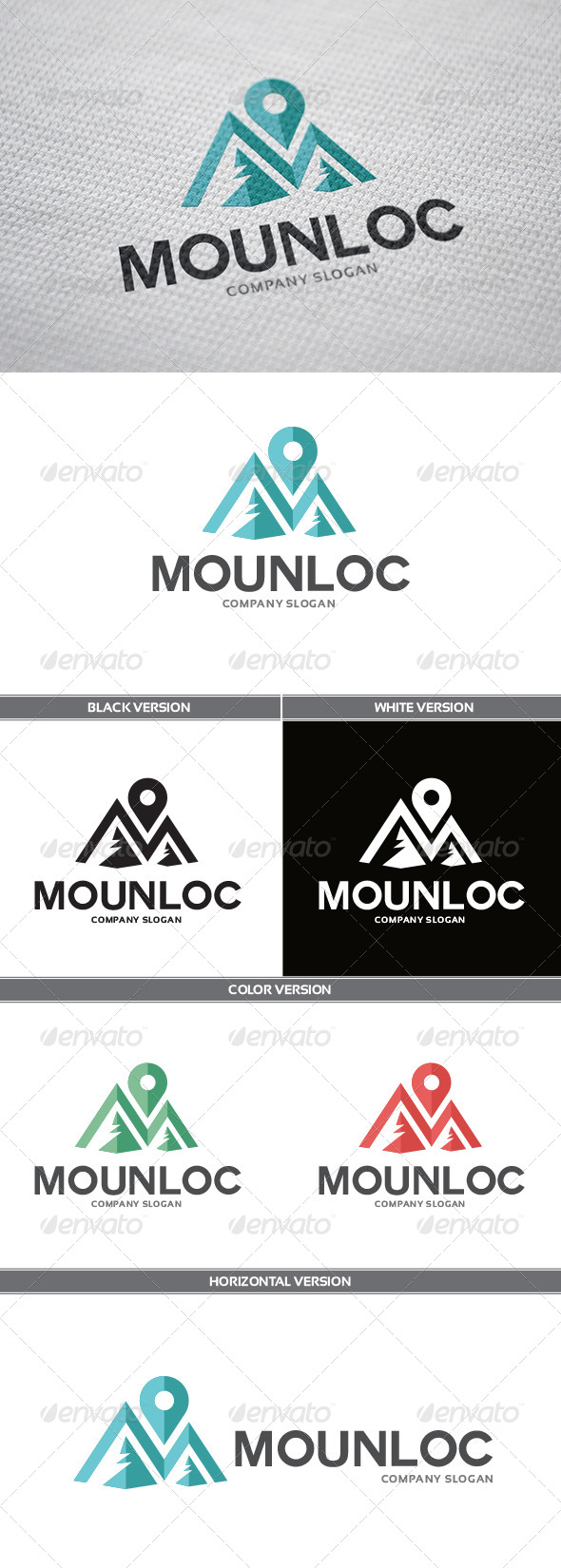 GraphicRiver MounLoc Logo 6132915