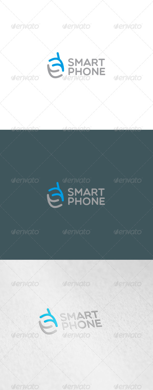 GraphicRiver Smart Phone Logo 6123535