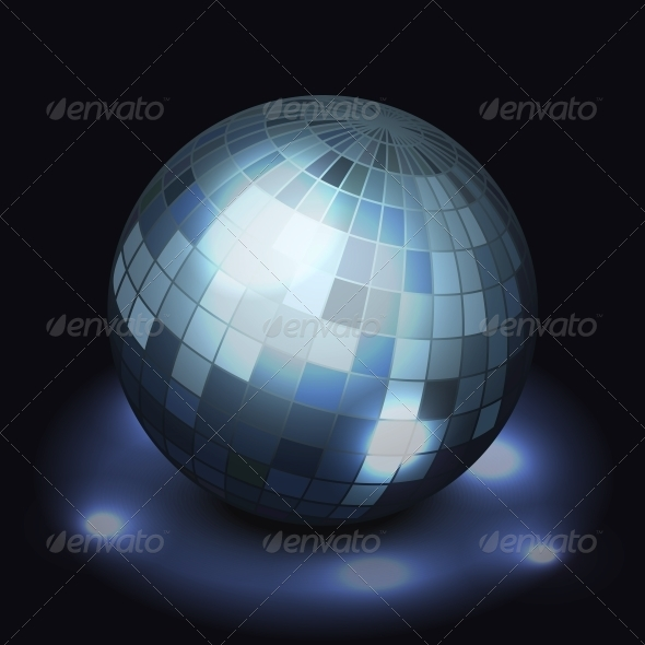 GraphicRiver Mirror Disco Ball 6133096
