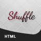Shuffle VCard - ThemeForest Item for Sale