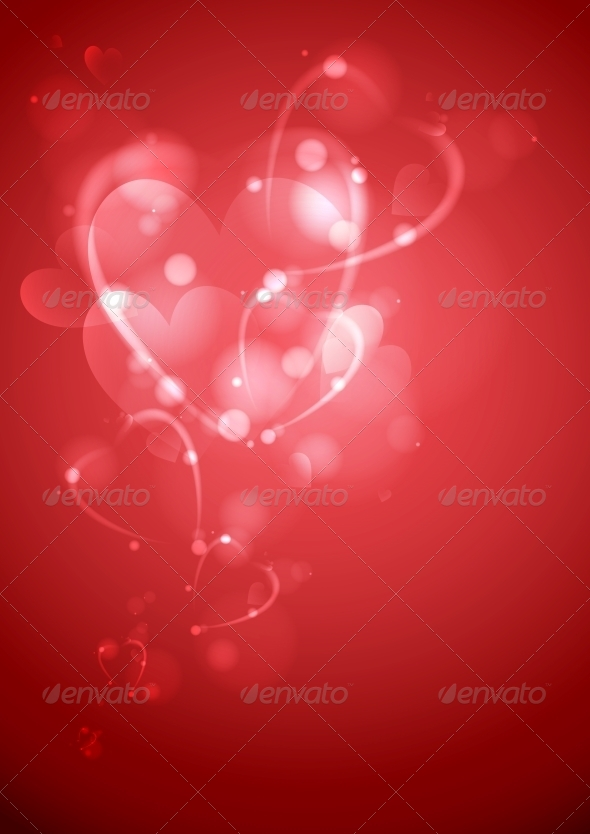 GraphicRiver Valentine s Day or Wedding Background 6134383