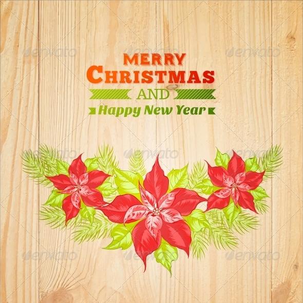 GraphicRiver Christmas Wreath 6135007