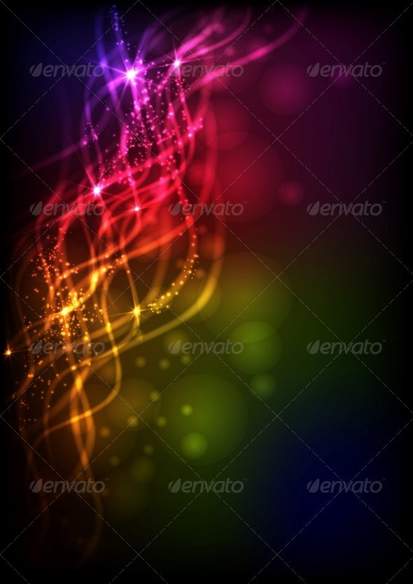 GraphicRiver Abstract Neon Waves 6135281
