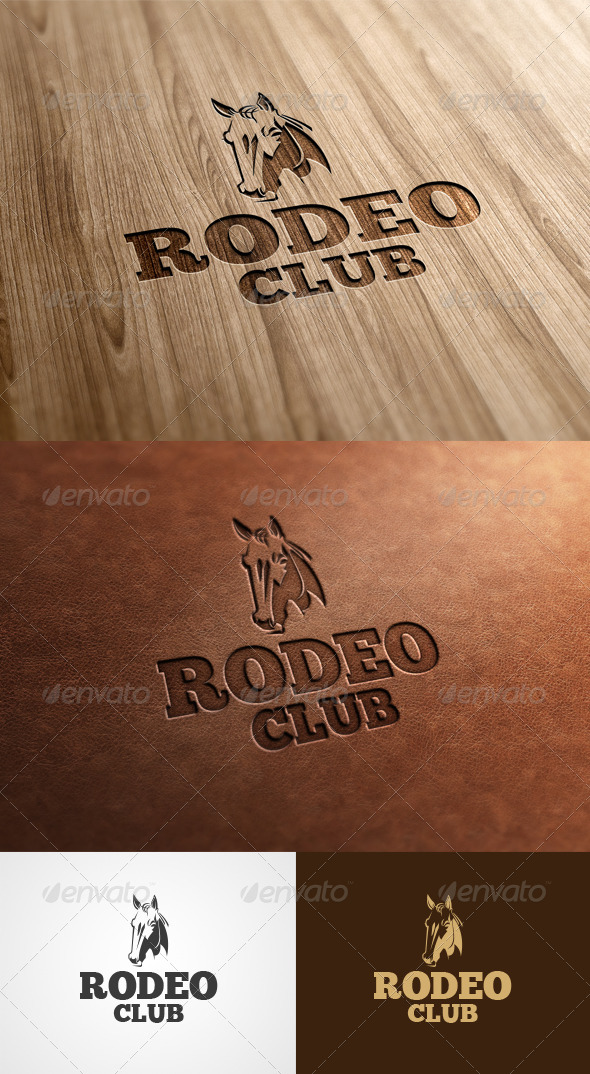 GraphicRiver Rodeo Club 6135397