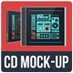 Flat CD Jewel Case Mock-Up - GraphicRiver Item for Sale