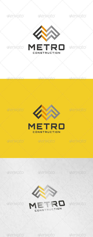 GraphicRiver Metro Logo 6136166