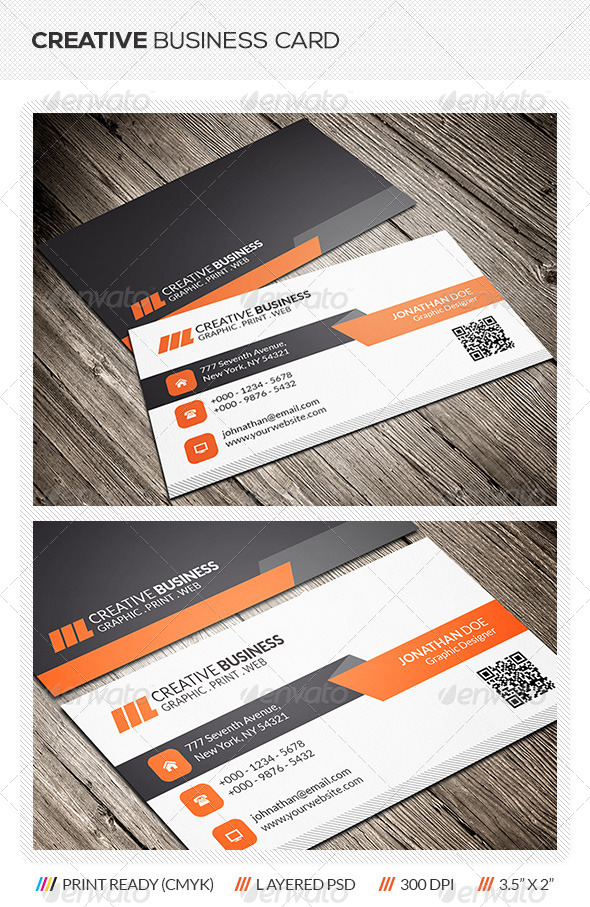 GraphicRiver Creative Business Card 6136399