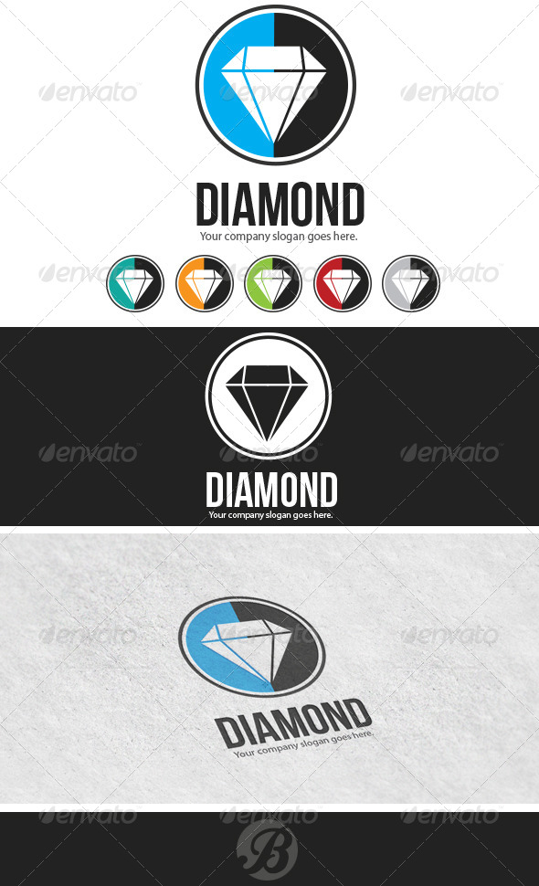 GraphicRiver Diamond 6136459