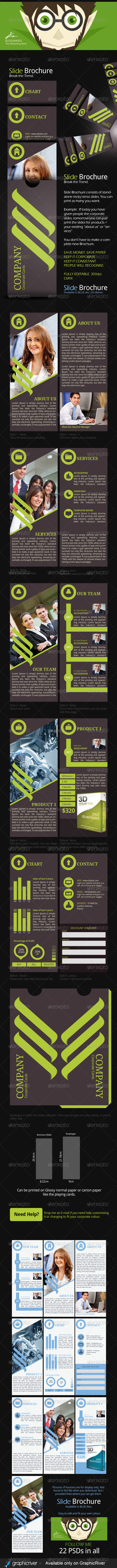GraphicRiver Slide Creative Business Brochure 6135461