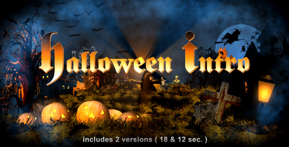 After Effects Project - VideoHive Halloween Intro 641237
