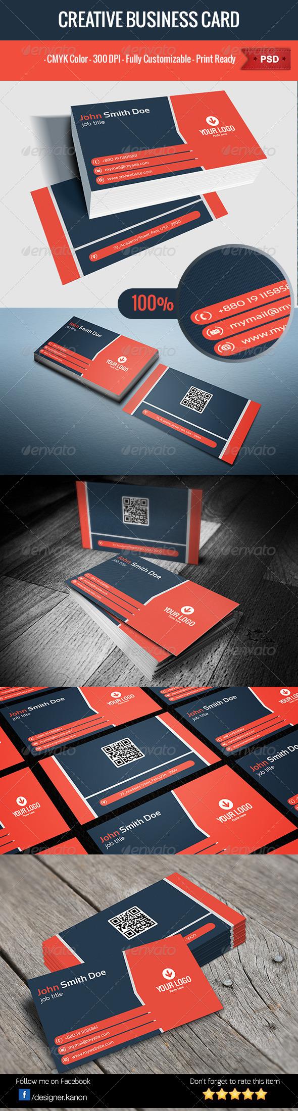 GraphicRiver Business Card V6 6137062