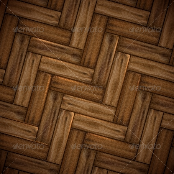 GraphicRiver Illustrated Wood Parquet Texture 6137782
