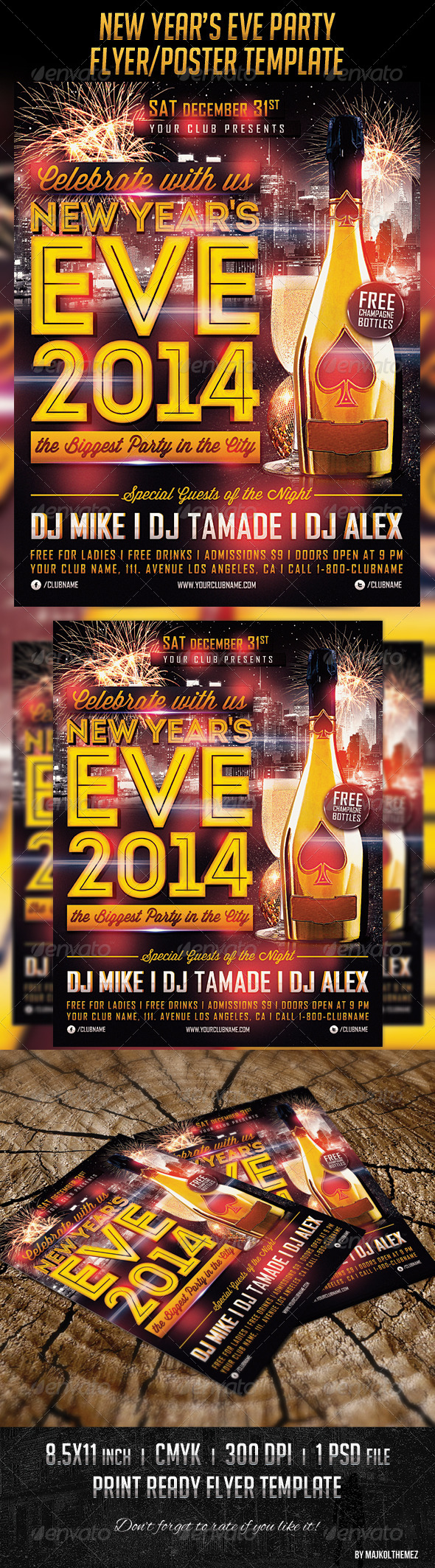 GraphicRiver New Year s Eve Poster Template 6139118