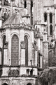 Old Gothic Cathedral Medieval Architecture Detail - PhotoDune Item for Sale
