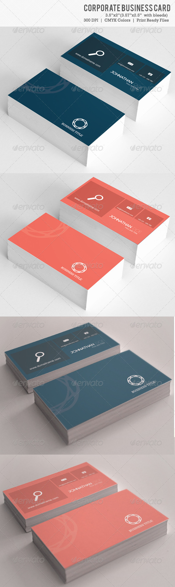 GraphicRiver Corporate Business Card 6141032