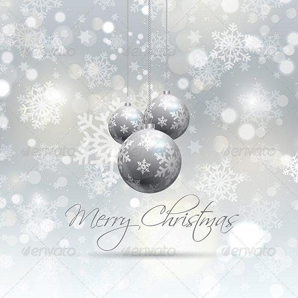 GraphicRiver Christmas Background 6141100