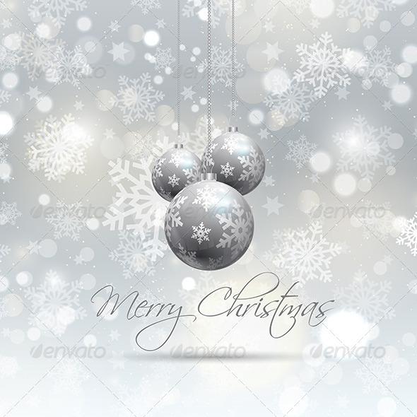 GraphicRiver Christmas Background 6141100