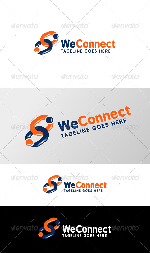 GraphicRiver We Connect 6135682
