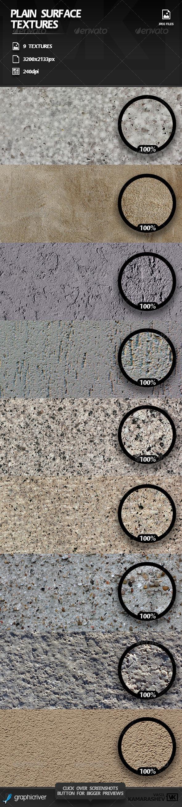 GraphicRiver Plain Surface Textures 6142086
