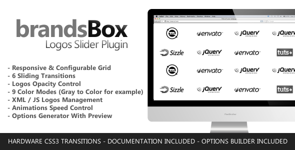 brandsBox - Logos Slider jQuery Plugin - CodeCanyon Item for Sale