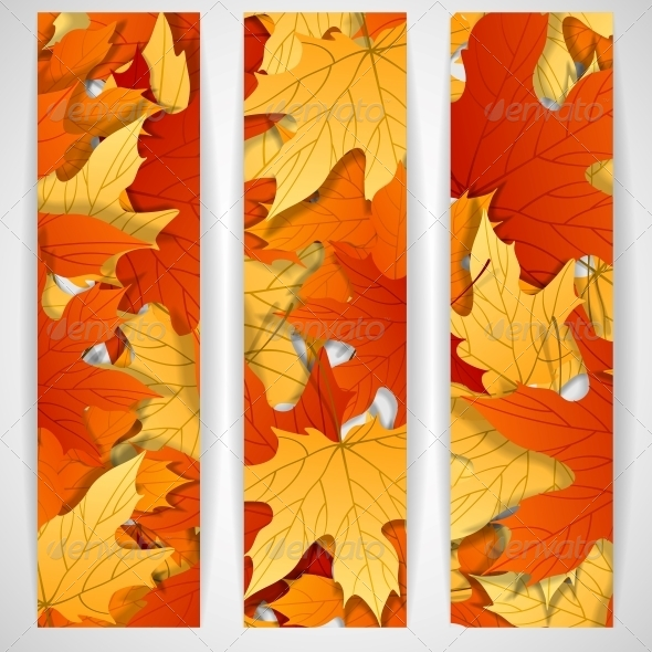 GraphicRiver Autumn Leaves Background 6143944