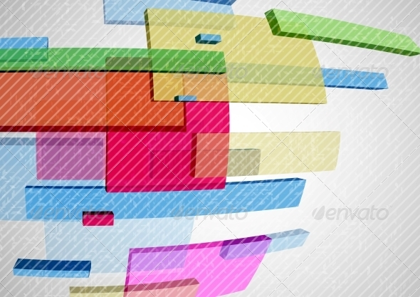 GraphicRiver Abstract Rectangle Background 6144167